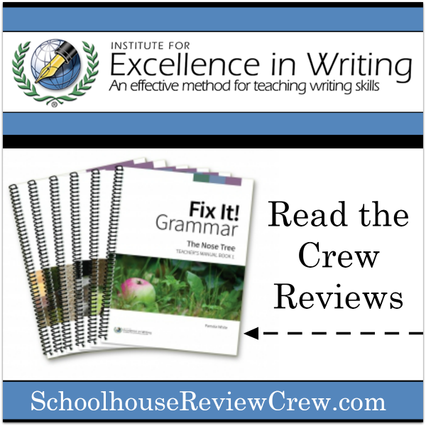 Excellence in Grammar! (IEW Fix It! Grammar Review)