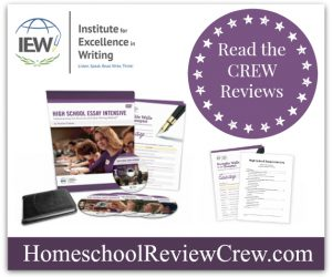 High School Essay Intensive {Institute for Excellence in Writing Reviews}