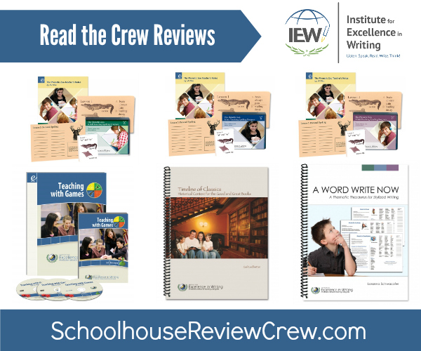 IEW Schoolhouse Reviews