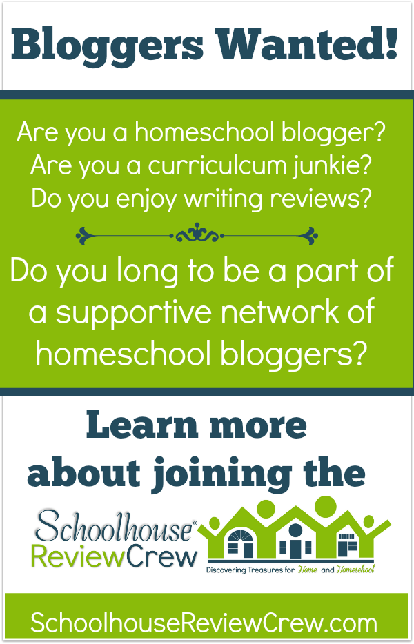 Learn more about joining the 2015 Schoolhouse Review Crew