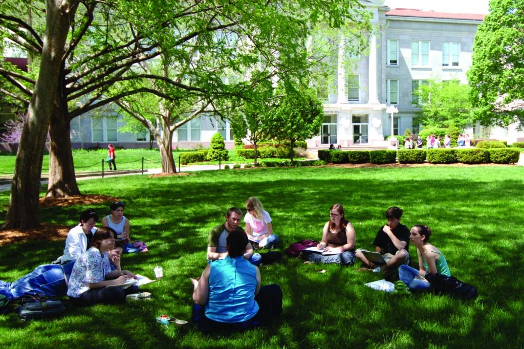 MSU courtyard (2)
