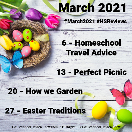 March 2021 Social Media Challenge Graphic