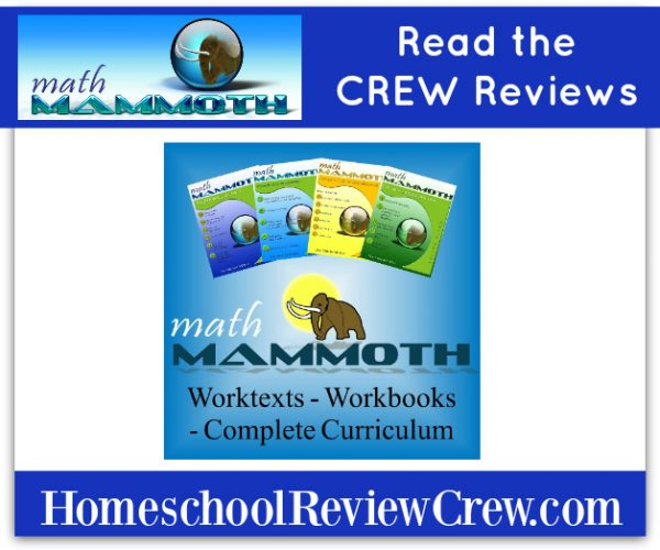 Affordable Quality Math {Math Mammoth Reviews}