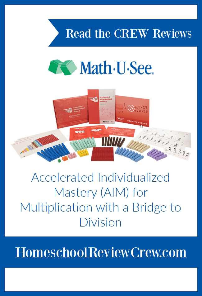 Master Multiplication Facts with Math-U-See AIM