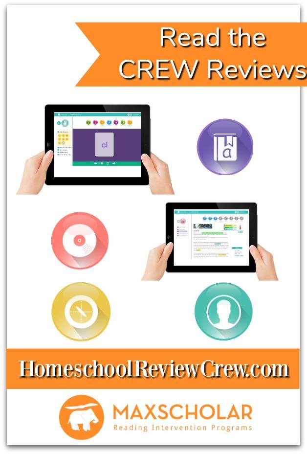 Read the Homeschool Review Crew Reviews of MaxScholar Orton-Gillingham Software {MaxScholar Reviews}