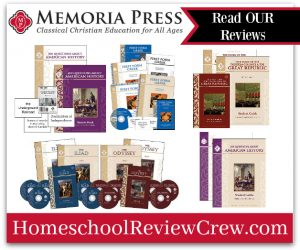 First Form Greek, Iliad/Odyssey and American History {Memoria Press Reviews}