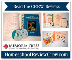 Spelling, Music Appreciation & Latin {Memoria Press Reviews}