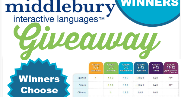 Middlebury Interative Languages Giveaway