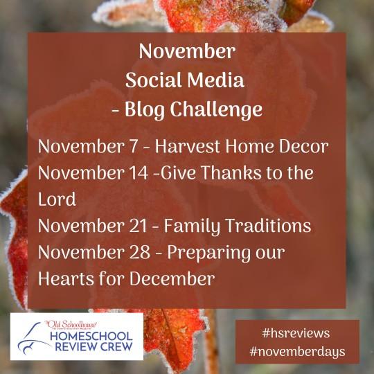 November Social-Media Challenge