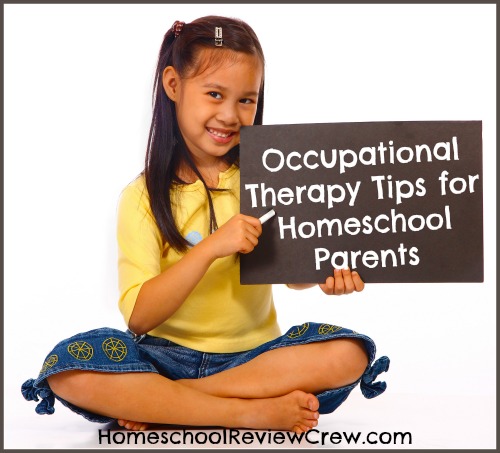 Occupational Therapy Tips for Homeschool Parents