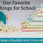 Friday Favorites {5 Days of Homeschool Encouragement}