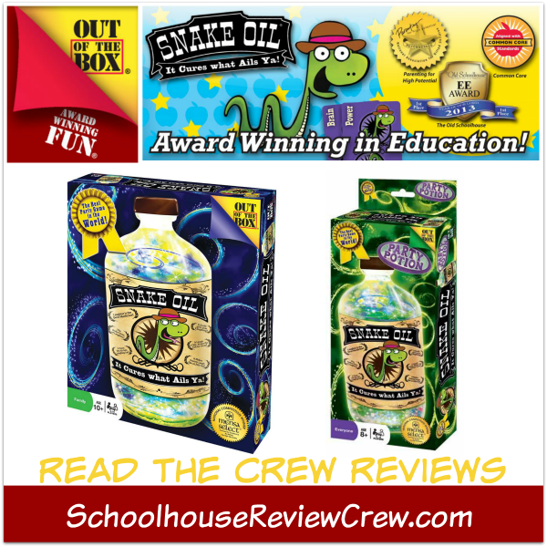 Snake Oil Educational Games (Out of the Box Games Review)