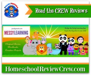 Messylearning For Preschoolers and Kindergartners {PandaParents Reviews}