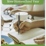 Planning, Planners and Preparing for the  New Homeschool Year {Blog Link UP}