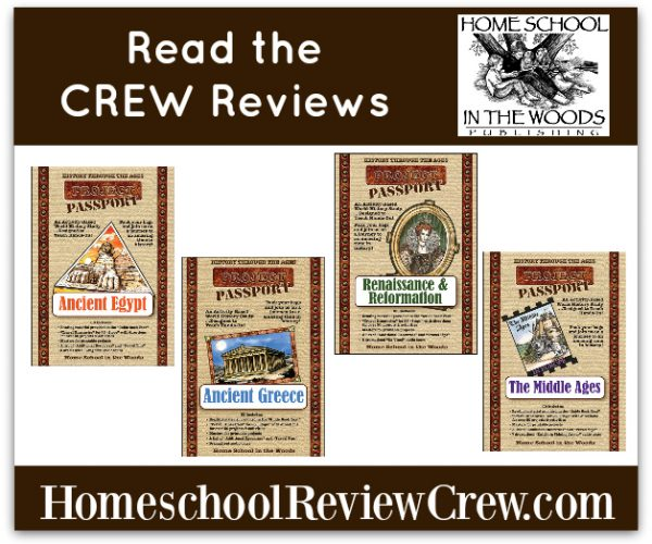 HISTORY Through the Ages Project Passport World History Study {Home School in the Woods}