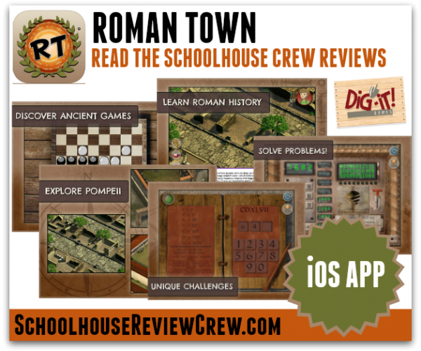 Roman Town App Review from Dig-It! Games