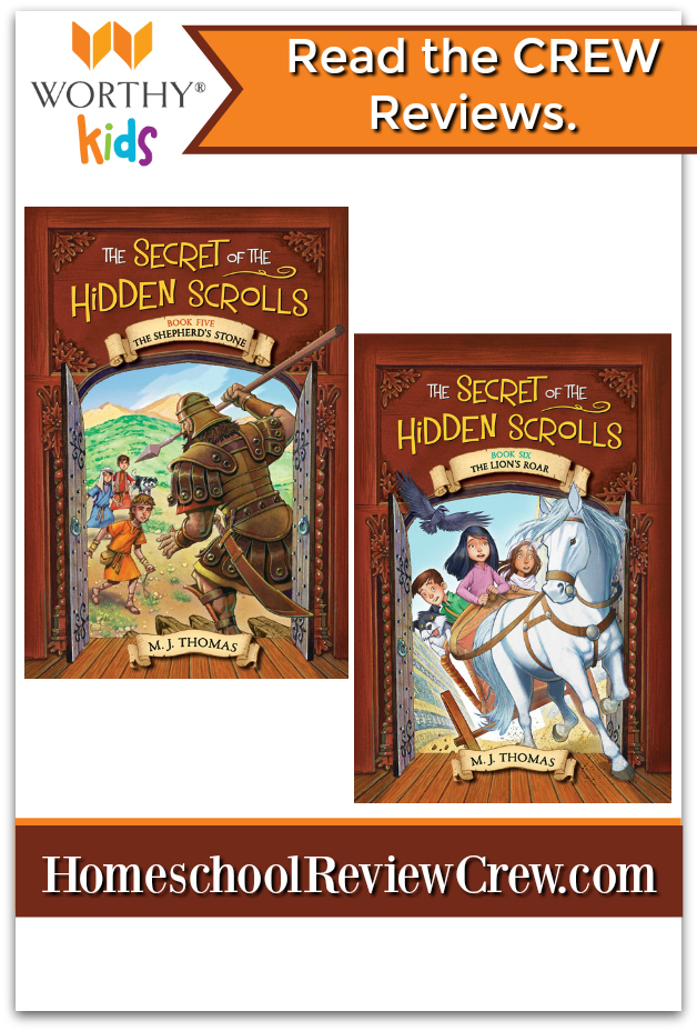 Secret of the Hidden Scrolls: The Shepherd's Stone (Book 5) & The Lion's Roar (Book 6) {WorthyKids Books Reviews}