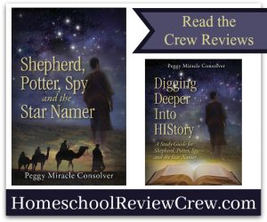 Shepherd, Potter, Spy–and the Star Namer {Peggy Consolver Reviews}
