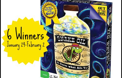 Snake Oil Giveaway