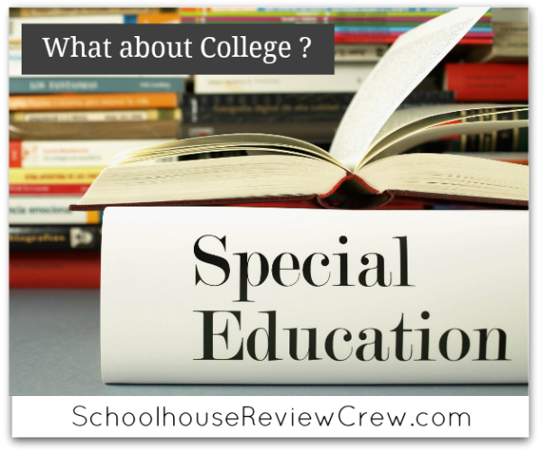 Special Needs Homeschooling -  What About College