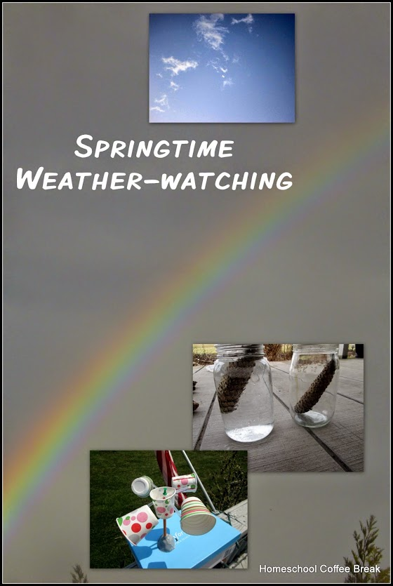 Springtime Weather Watching Nature Study