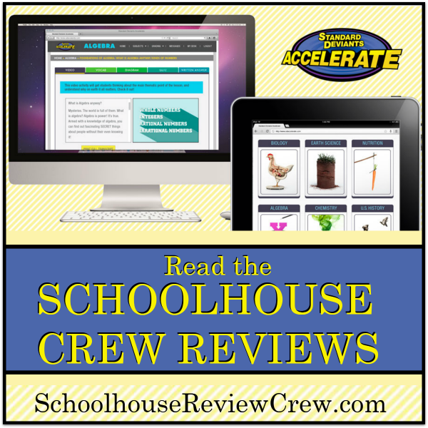 Online Learning Resource for Grades 3-12 (Standard Deviants Accelerate Review)