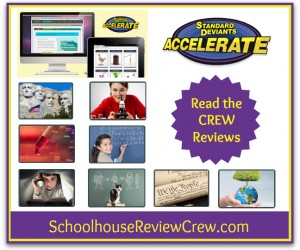 Adaptive Online Homeschooling {Standard Deviants Accelerate Review}