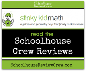 Help with Homeschool Algebra and Geometry  (Stinky Kid Math Review)