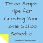 Three SimpleWays to Schedule YourHome School