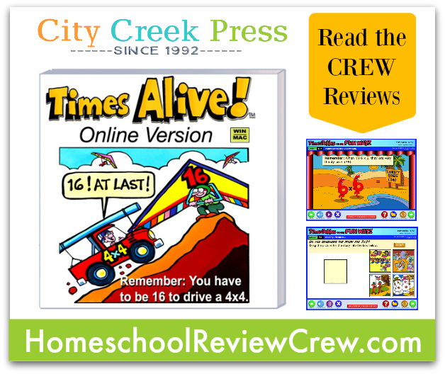 Times Alive Software Reviews by the Homeschool Review Crew