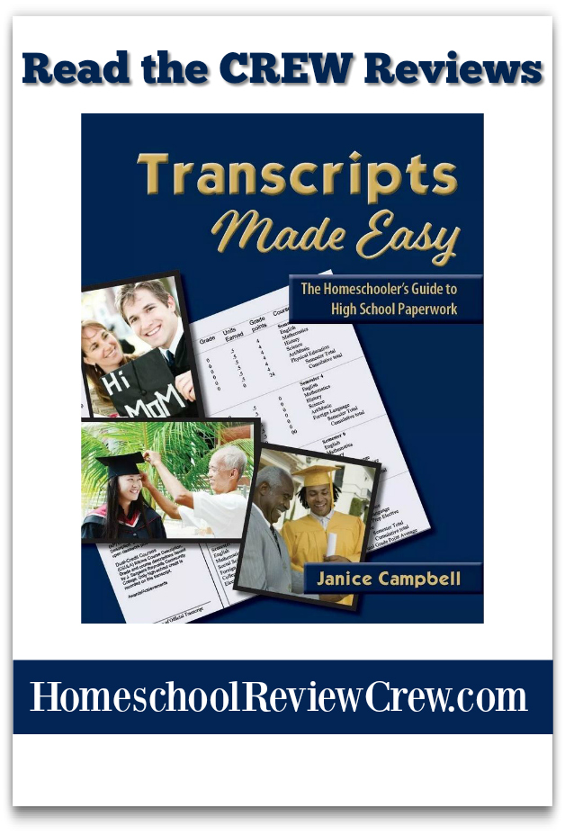 Transcripts Made Easy: The Homeschooler's Guide to High-School Paperwork {Everyday Education Reviews}