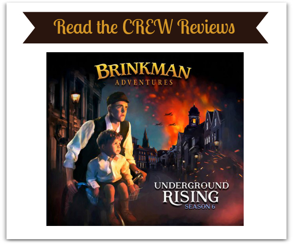 Underground Rising Season 6 Brinkman Adventures Reviews - Homeschool Review Crew