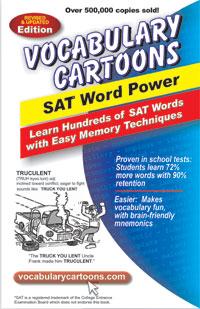 New Monic Vocabulary Cartoons- SAT Word Power Book 1