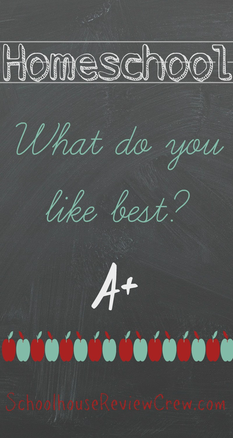 Blog Cruise~ Kids Answer: What do you like best about homeschooling?