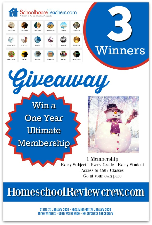 Win a One Year Ultimate Membership to SchoolhouseTeachers.com