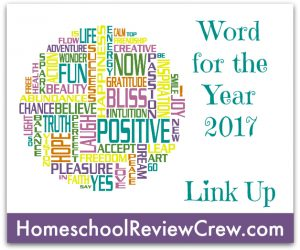 Word for the Year 2017 {Link Up}