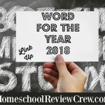 Word of the Year 2018 {Link Up}