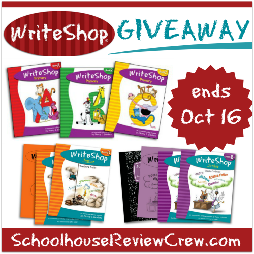 WriteShop Giveaway