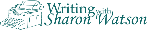 Writing with Sharon Watson logo