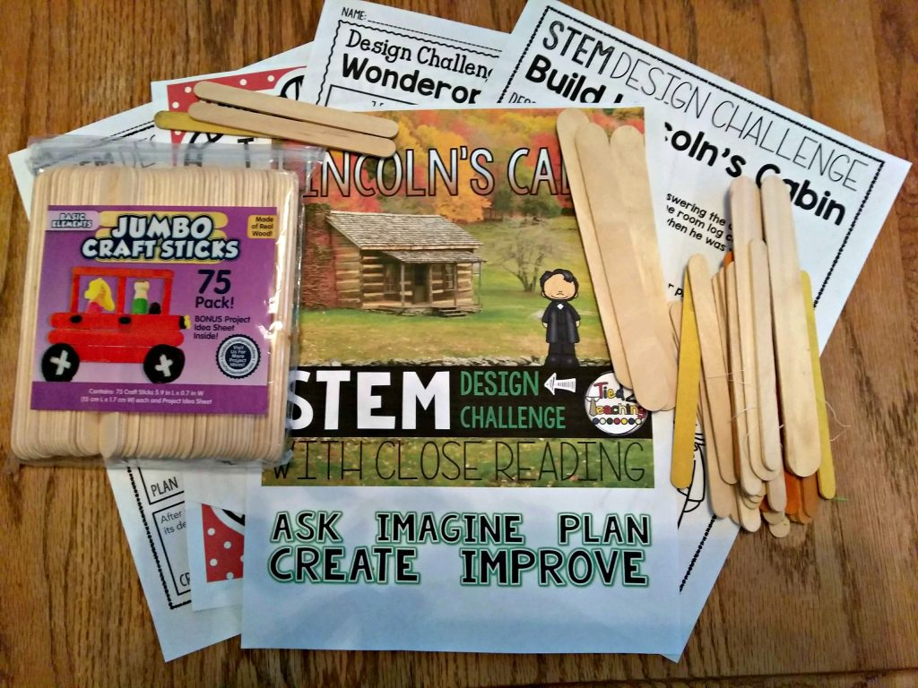 The Crew reviews Tied 2 Teaching STEM Activities, Full Year of Challenges