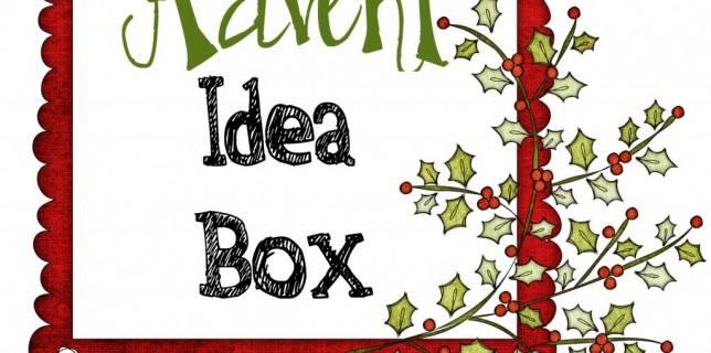advent idea box