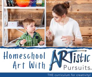 Homeschool Art with Artistic Pursuits @ HomeschoolReviewCrew.com