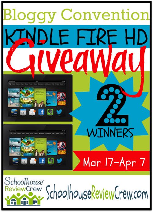 2014 Bloggy Convention! (and Kindle Fire HD giveaway)