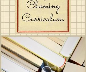 Curriculum {5 Days of Homeschool 101}