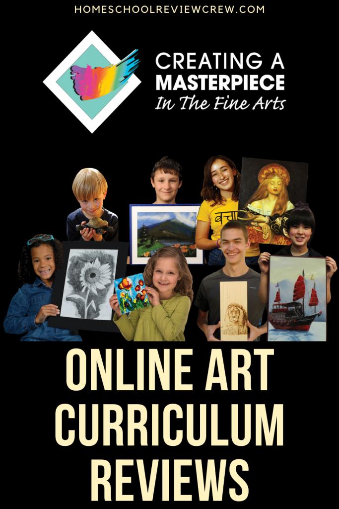 Creating a Masterpiece Online Art Curriculum Reviews