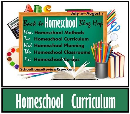 Back to Homeschool Blog Hop — Homeschool Curriculum