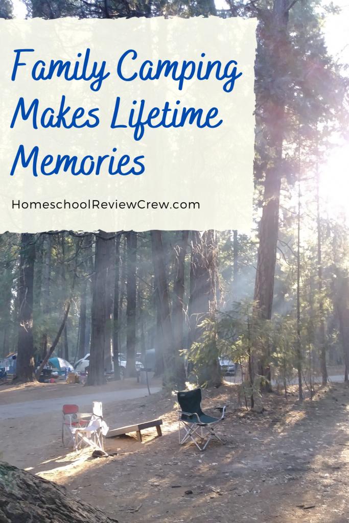 Family Camping Makes Lifetime Memories @ HomeschoolReviewCrew.com