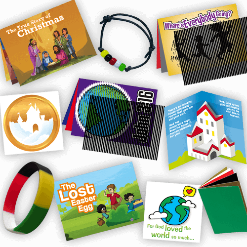 We all know that colorful resources, games, and activities are useful tools when it comes to getting a message across to children. The Gospel Tracts and Evangelism Tools Sampler Pack from Let the Little Children Come is just the thing.