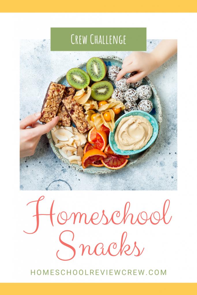 Homeschool Snacks @ HomeschoolReviewCrew.com