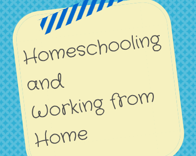 homeschooling and working from home